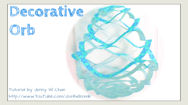 Kirigami Orb / Decorative Ball