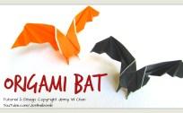 Origami Bat Tutorial | Jenny W. Chan, Origami Tree