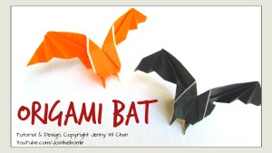Origami Bat Tutorial | Jenny W. Chan, Origami Tree