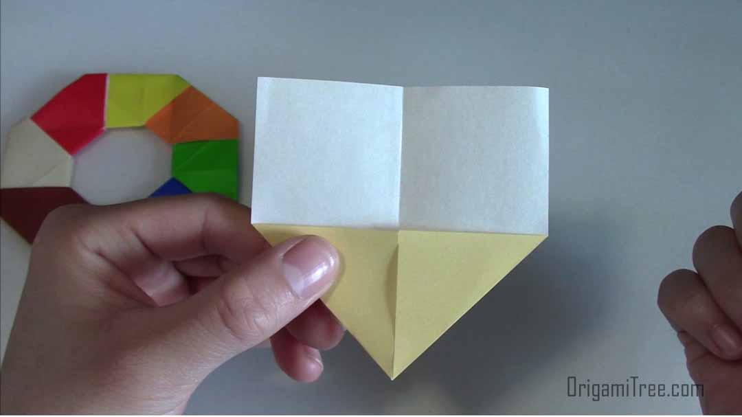 Origami Magic Circle Easy. (Instructions) (Full HD) - Dailymotion ... | 607x1080