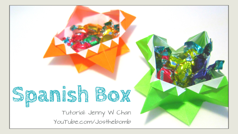 Origami Spanish Box