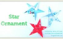 Star Ornament thumbnail origami origamitree.com