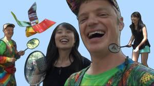 jeremy shafer origami badminton birdie origamitree.com