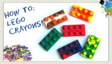 Lego Crayons OrigamiTree.com
