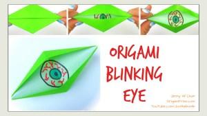 origami blinking eye tutorial | Jenny W. Chan, origamitree.com