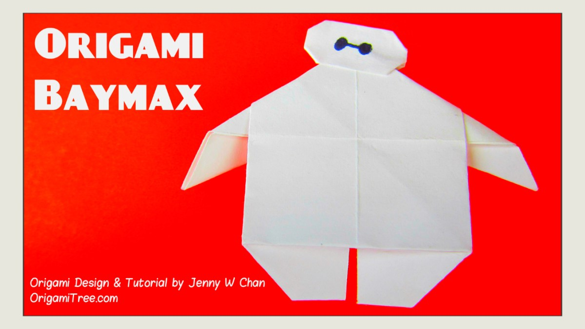 Origami Baymax - Disney's BIG HERO 6