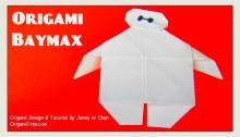 baymax thumbnail origami origamitree.com