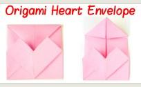 Origami Heart Envelope | Origami OrigamiTree.com