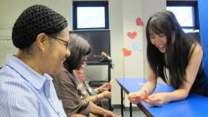 6.22.15 Origami Workshop, Senior Center, Brooklyn, NY