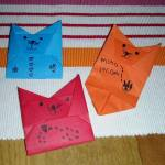 Origami Cat Envelope, Ana Liza T. | TUTORIAL: bit.ly/CatEnvelope