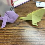 Origami Fish & Bird, Esther L. | TUTORIAL: http://wp.me/p5AUsW-gl