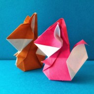 Origami Squirrel Raymond P Yeh