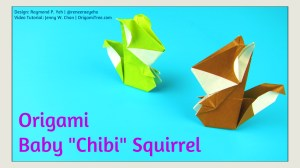 Origami Squirrel Thumbnail