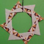 Origami Wreath Estrella Variation, Carlos B. | TUTORIAL: http://wp.me/p5AUsW-VZ