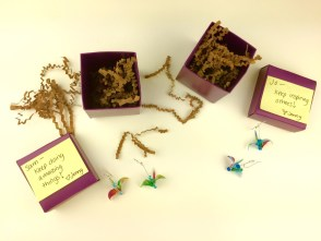 Taylor Swift Sam and Jo Origami Cranes OrigamiTree.com