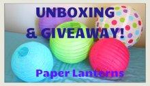 GIVEAWAY Paper Lanterns