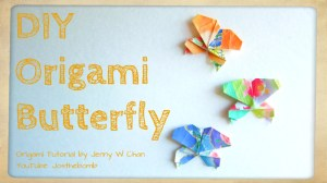 origami butterfly tutorial origamitree.com