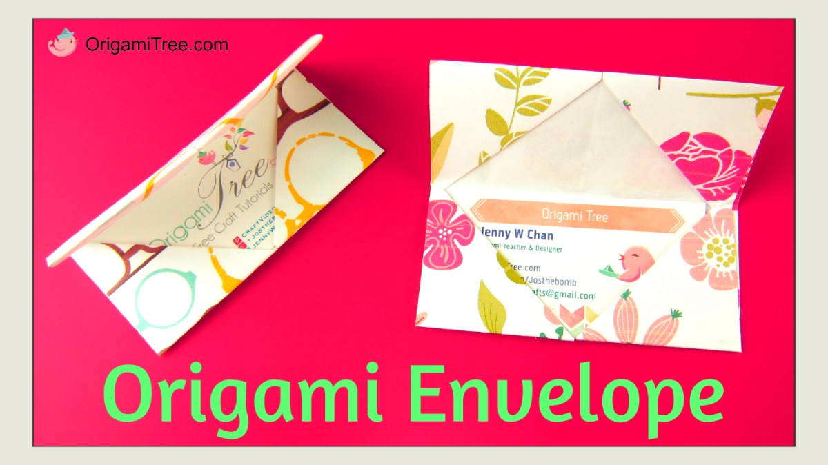 Origami Envelope (Business Card Holder)