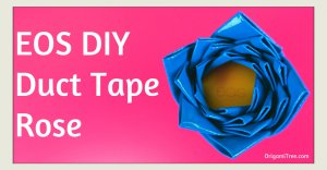 EOS DIY Duct Tape Rose Duct Tape Craft