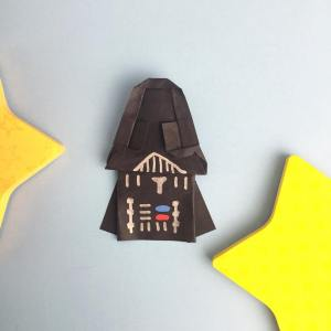 Origami Darth Vader Star Wars Origami Version 2