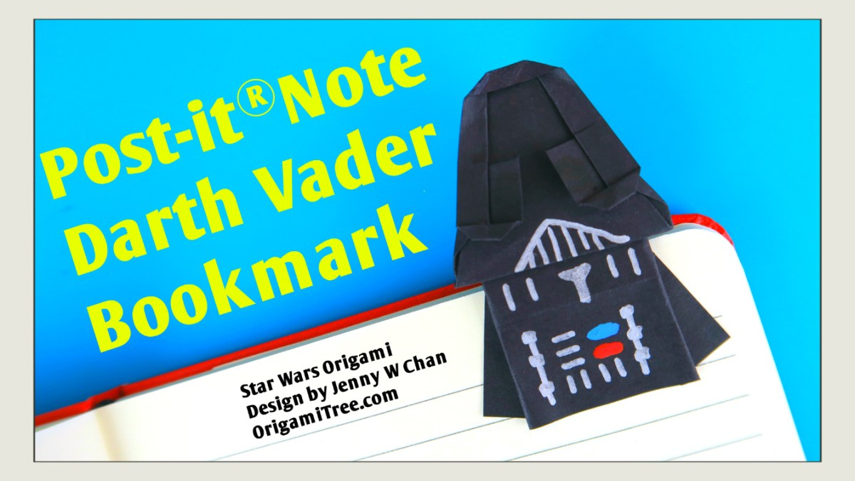 Star Wars Origami - Darth Vader Tutorial