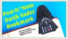 Darth Vader Bookmark Jenny W Chan OrigamiTree.com