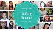 My Favorite Crafting Memory - ft. YouTubers & Crafters From Around The World Origami Tree