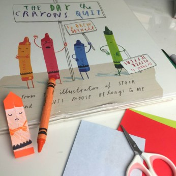 Origami Crayon - The Day The Crayons Quit1