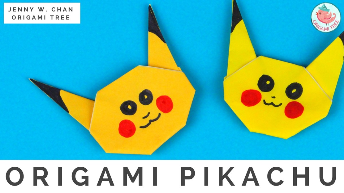 Origami Pikachu (Pokémon Origami)