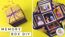 Aladdin Explosion Box | Origami Tree