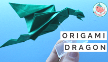 Origami Dragon Tutorial | Jenny W. Chan Origami Tree