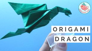 Origami Dragon Tutorial | Jenny W. Chan Origami Tree