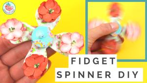 Paper Fidget Spinner Tutorial | Jenny W. Chan, Origami Tree