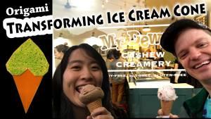 Origami Ice Cream Cone ft. Jeremy Shafer