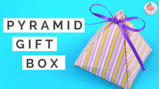 pyramid gift box tutorial | Jenny W. Chan Origami Tree