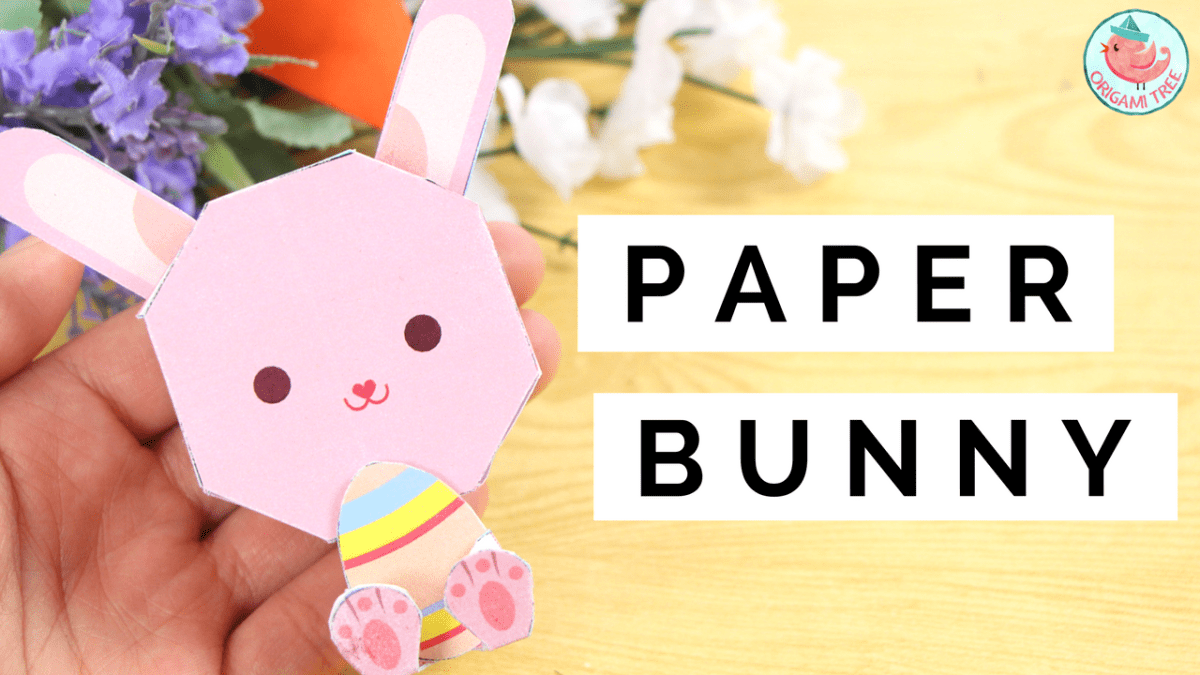 Paper Toy Bunny (Free Printable)