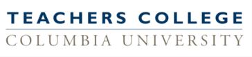 Teachers College Columbia University Logo