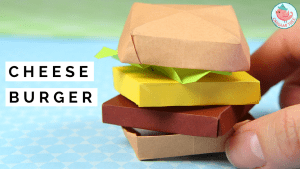 origami cheeseburger tutorial | Jenny W. Chan, Origami Tree