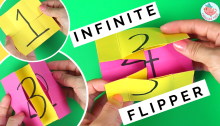 Infinite Flipper Tutorial | Jenny W. Chan, Origami Tree