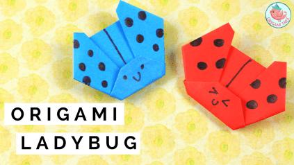 origami ladybug tutorial, Jenny W. Chan Origami Tree