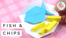 Origami Fish and Chips Tutorial, Jenny W. Chan - Origami Tree