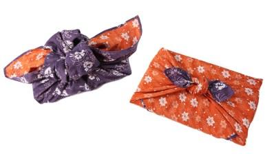 furoshiki bow and flower, Jenny W. Chan Origami Tree