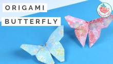 Origami Butterfly Tutorial, Jenny W. Chan Origami Tree