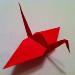 Origami Paper Crane Diagram Towbar Caravan Electrics Wiring How To Make A Instructions And Diagrams Follow The Steps Below This