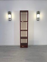 Art Deco Regal aus Palisanderholz - Original Antike Mbel