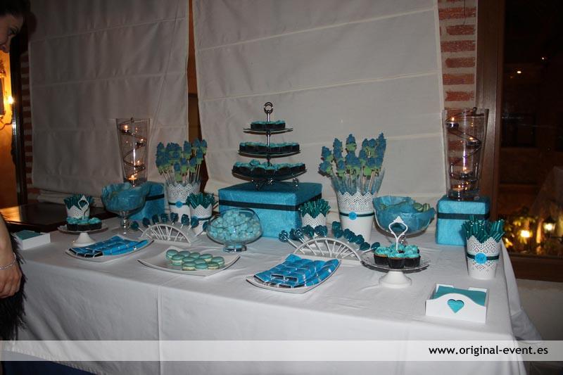 Doble Candy Bar Mesa dulce y salada en la boda de Marta y Edu  Original Event Original Event