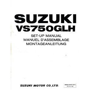 Suzuki 500 bis 999 ccm Reparaturanleitung und