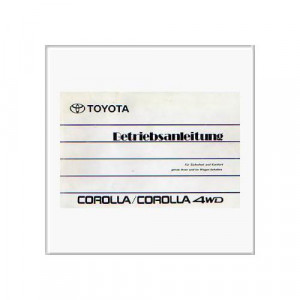 Toyota Corolla Reparaturanleitung und Werkstatthandbuch kaufen
