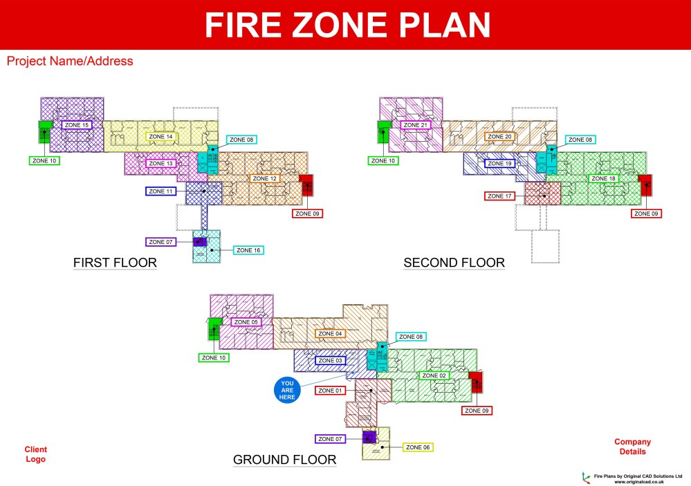 medium resolution of a fire zone plan should be located next to your fire alarm panel and displays fire alarm detection zones as hatched areas overlaid
