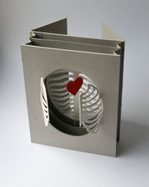 'Cardiothoracic' tunnel book/card